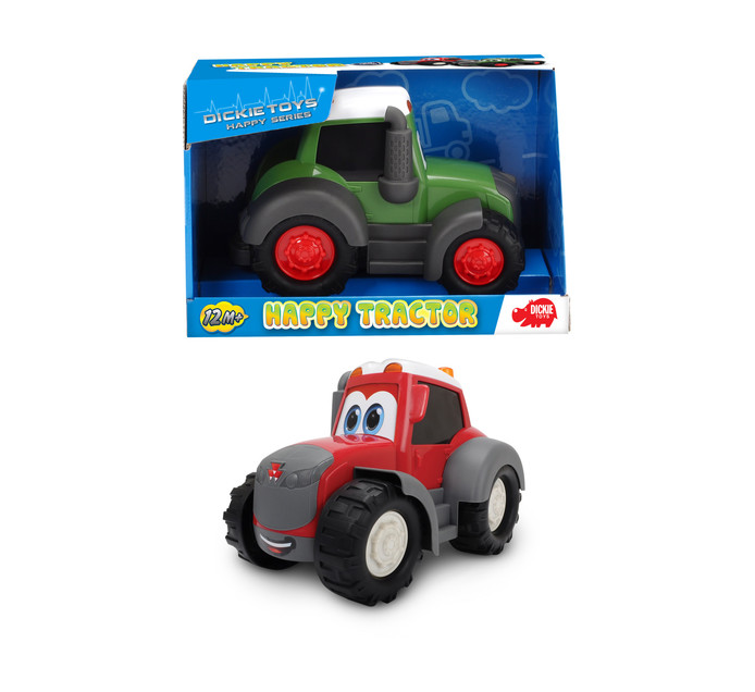 DICKIE 25CM DICKIE HAPPY TRACTOR 25CM