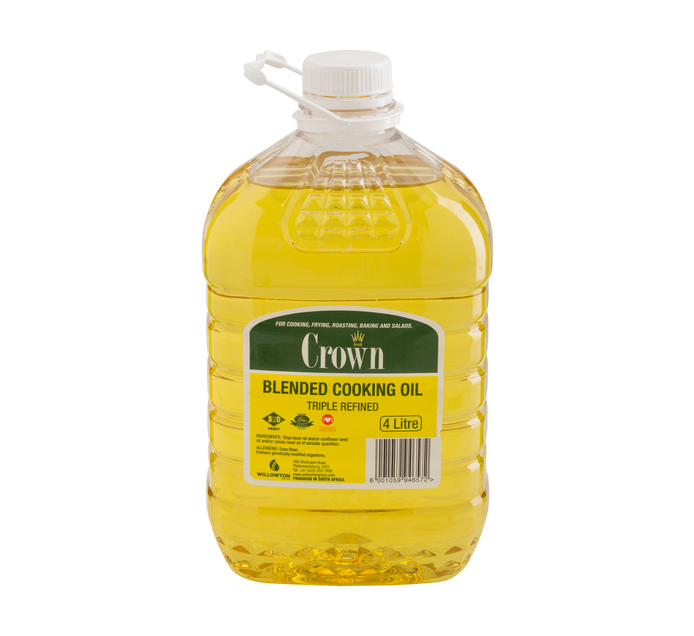 CROWN Cooking Oil (1 x 4L)
