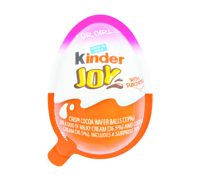 KINDER JOY 21g Chocolate  Egg
