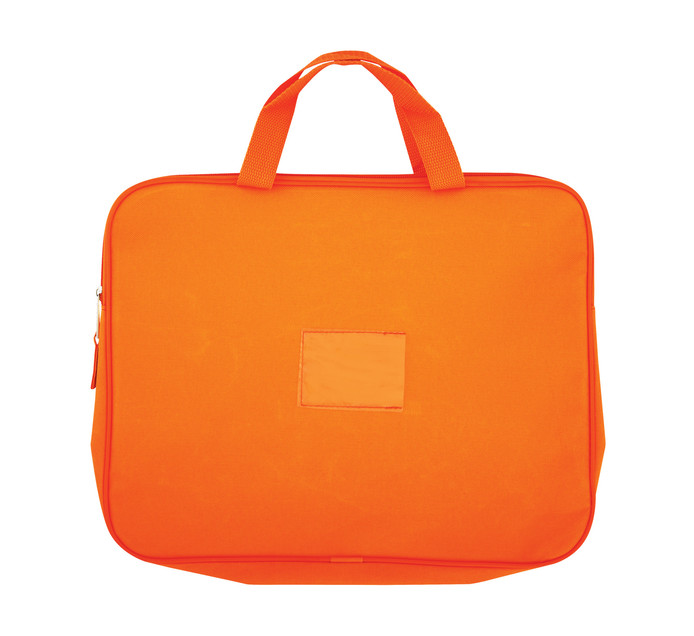 KENZEL A4 Book Bag With Handle Orange Each