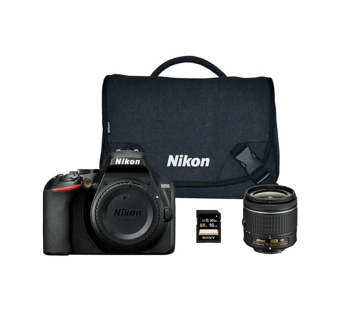 NIKON D3500 Single Lens Bundle