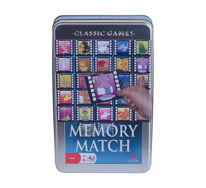 Memory Match in a Tin