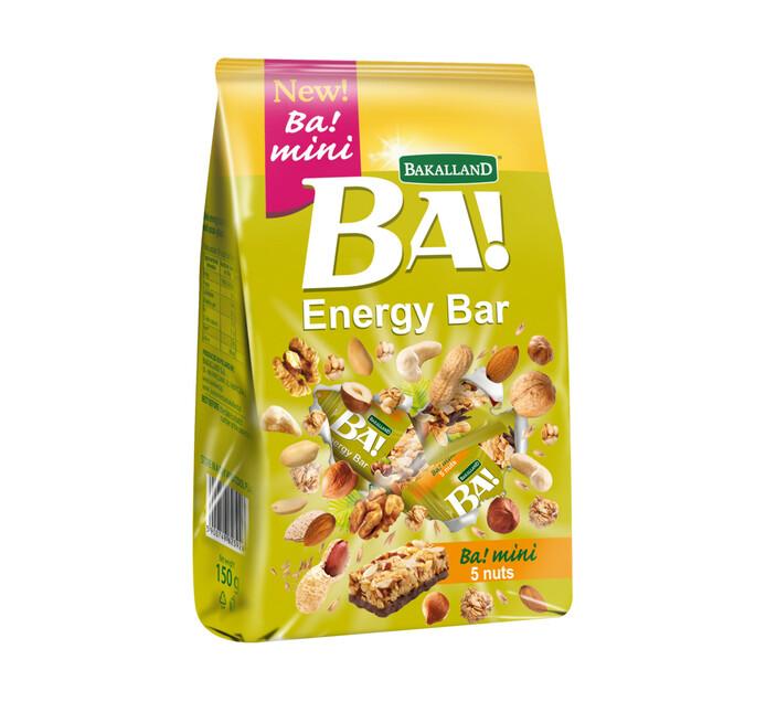 BAKALLAND 1 x 10's Bite Size Energy Bars