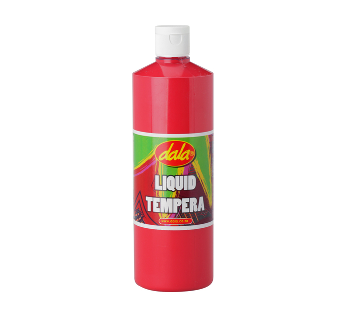 DALA 500ml Ready Mix Tempera Paint Red