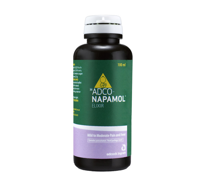 ADCO Napamol Paracetamol Analgesic (1 x 100ml)