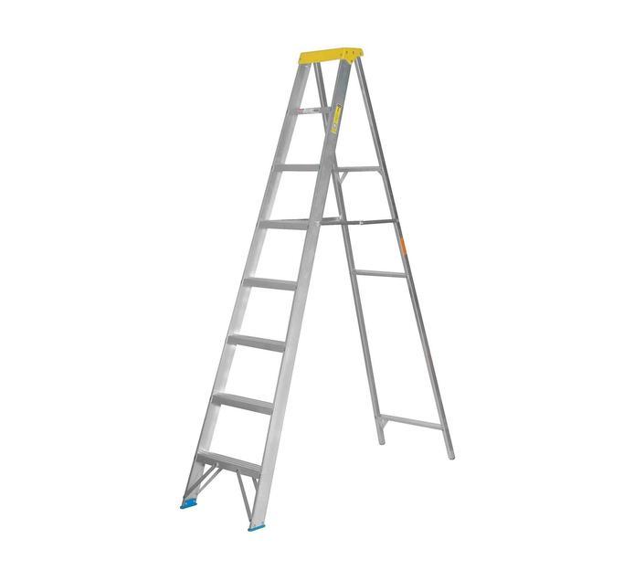 GRAVITY 2.4 m Aluminium 8-Step Ladder