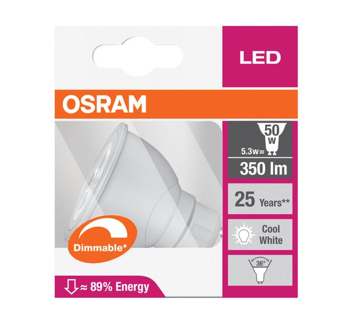 OSRAM 5W 5W Osram LED GU10 Dimmable