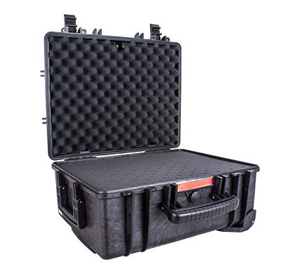 Hard Case 530x435x260mm Od With Foam Black Water & Dust Proof 483720
