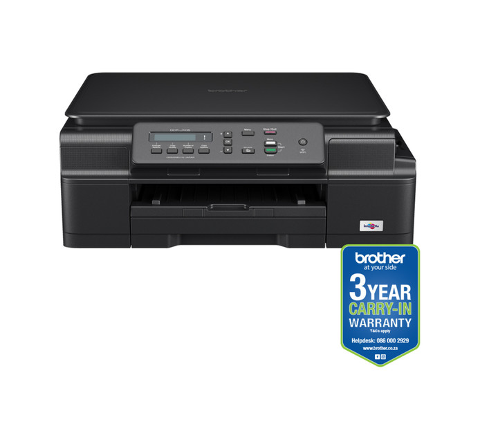 BROTHER DCPJ105 Ink Benefit 3-in-1 Colour Inkjet Printer