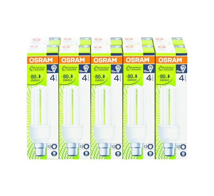 OSRAM 15W 14 W CFL 10 Pack