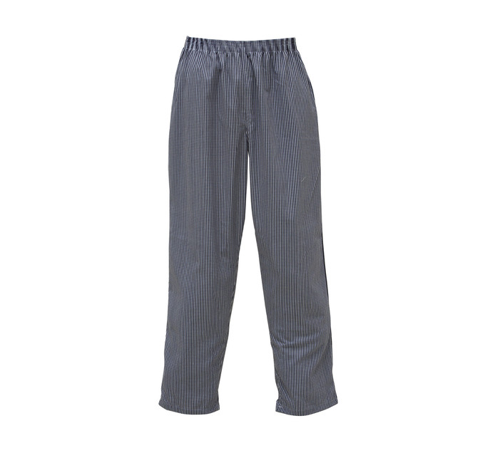 BAKERS & CHEFS S-XL Checked Chef Pants