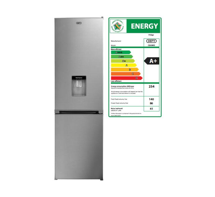 DEFY 226 l Combi Fridge/Freezer with Water Dispenser