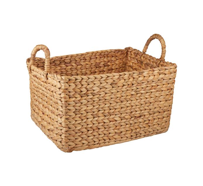 Medium Evo Hyacinth Rect Basket