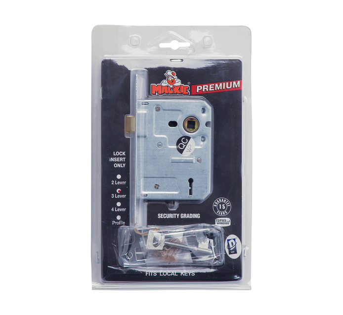 MACKIE 3 Lever Security Mortice Lock