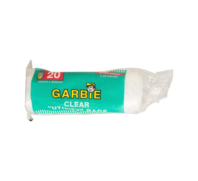 GARBIE Clear Refuse Bag (1 x 20's)