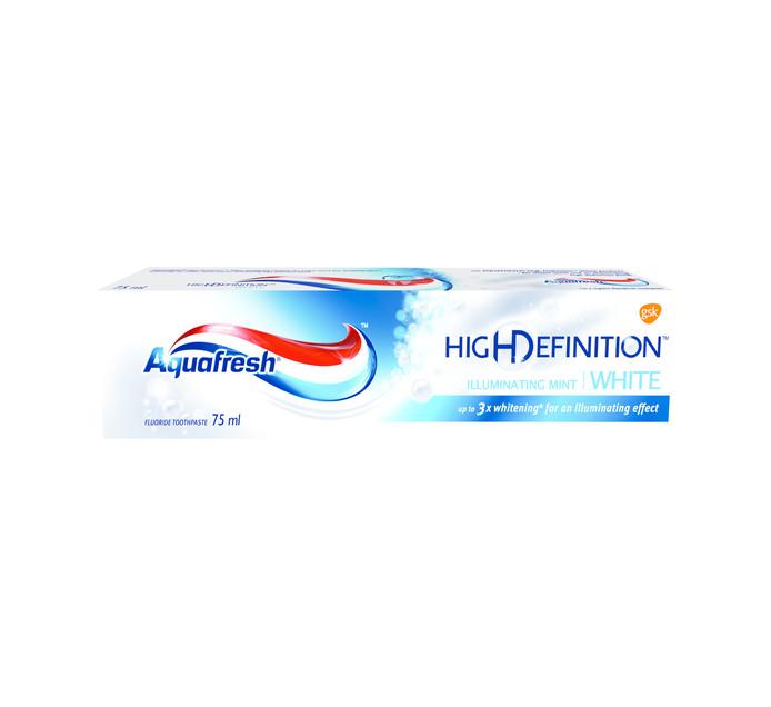 AQUAFRESH 1 x 75ml High Definition Mint Toothpaste