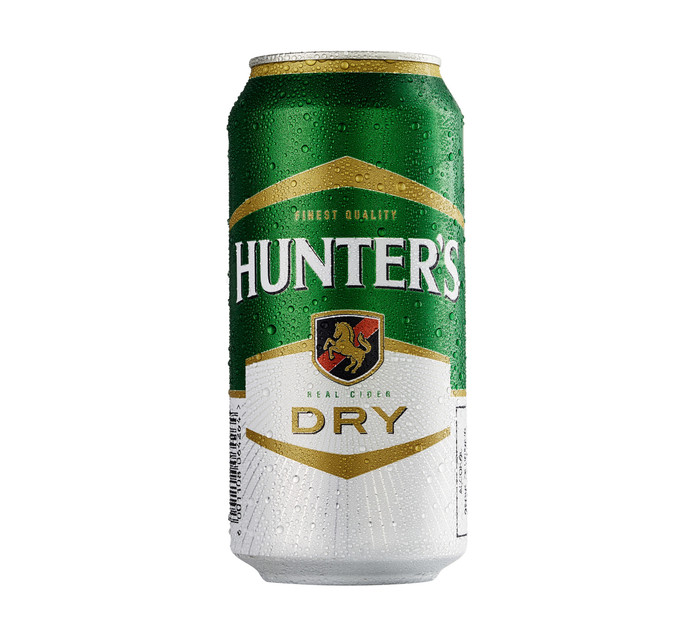 HUNTERS Dry Can (24 x 440ml)