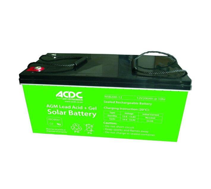 12v 200ah Agm Lead Acid + Gel Solar Battery