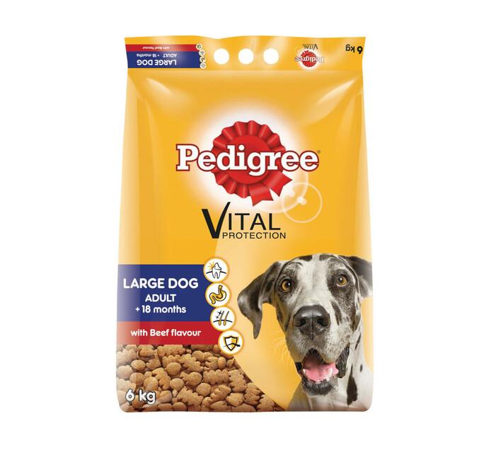PEDIGREE LARGE DOG DRY FD 6KG