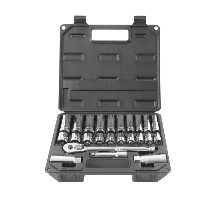 MASTERCRAFT 24 piece Mastercraft Socket Set