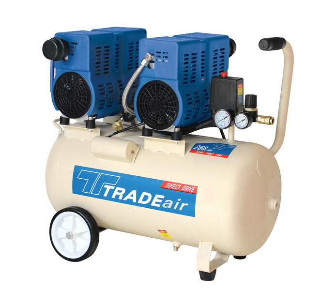 TRADEAIR 100 L 1.5 Kw Direct Drive Silent Compressor