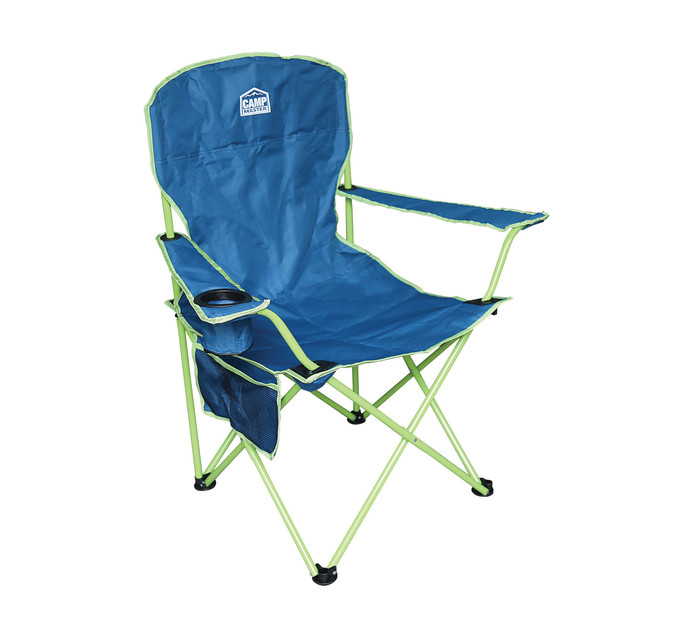 CAMPMASTER OVERSIZE 200 CHAIR BLUE&GREEN
