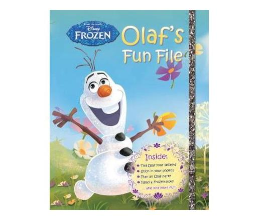 Disney Frozen Olaf's Fun File