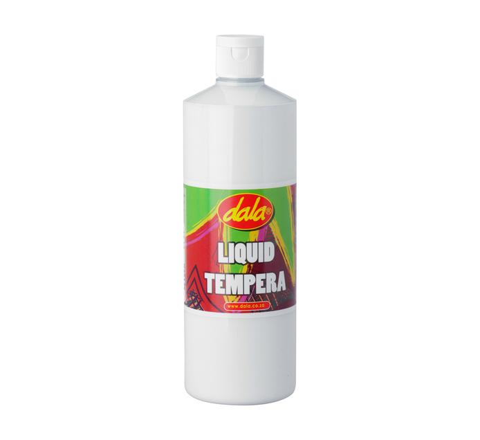 DALA 500ml Ready Mix Tempera Paint White