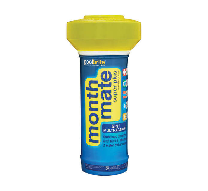 POOL BRITE 1.5 kg Month Mate  Super Plus Pool Floater