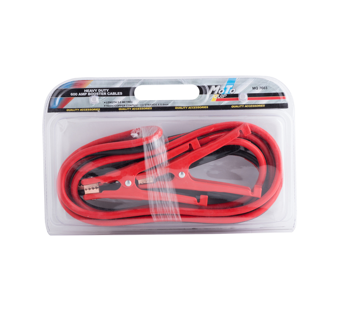 MOTO-QUIP 600Amp Booster Cables