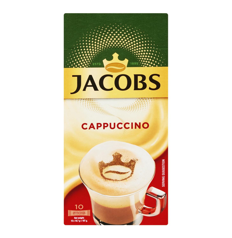 Jacobs Kronung Coffee Sticks Cappuccino (10 x 18.6g)
