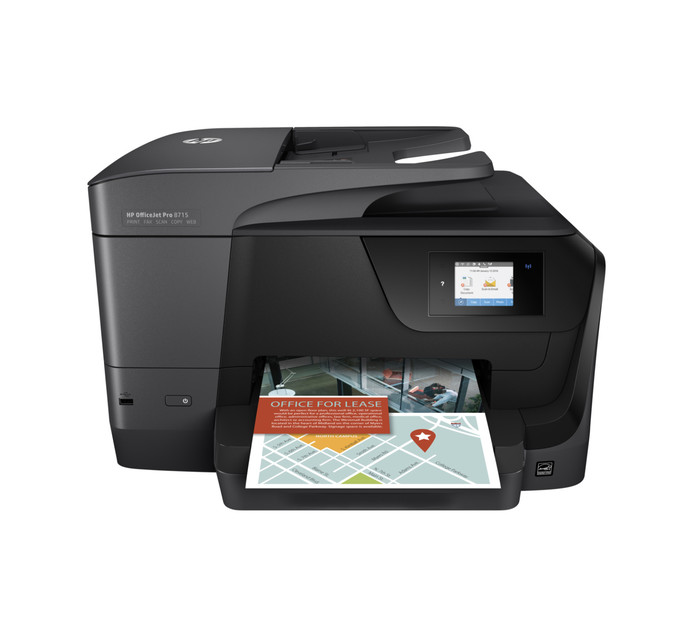 HP 8715 OfficeJet Pro 4-in-1 Colour Inkjet Printer