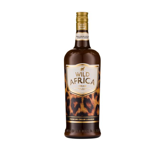 WILD AFRICA Cream Liqueur (1 x 1L)