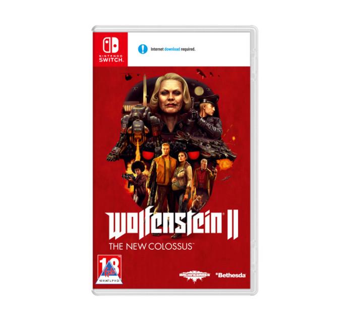 NINTENDO SWITCH Wolfenstein 2 - The New Colossus