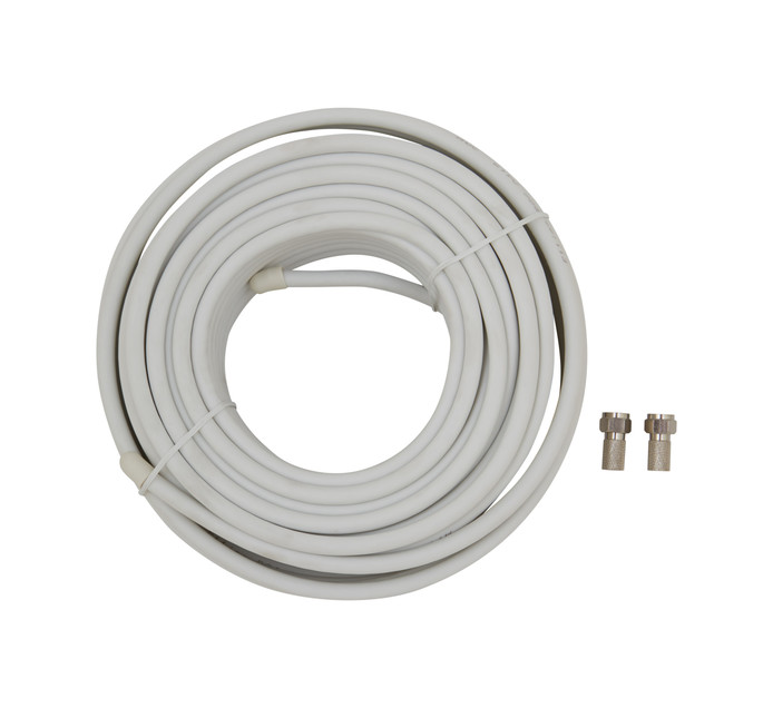 ELLIES 20 m Coaxial TV Cable