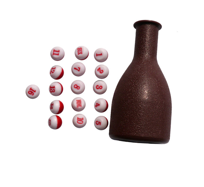 DUNLOP TALLY SHAKER WITH TALLY BALLS