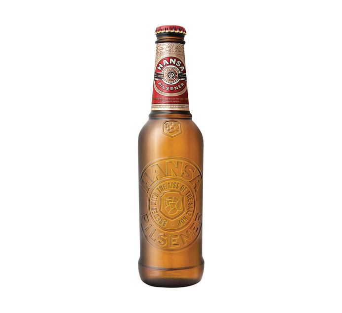 HANSA Pilsner Pint RB (24 x 330ml)