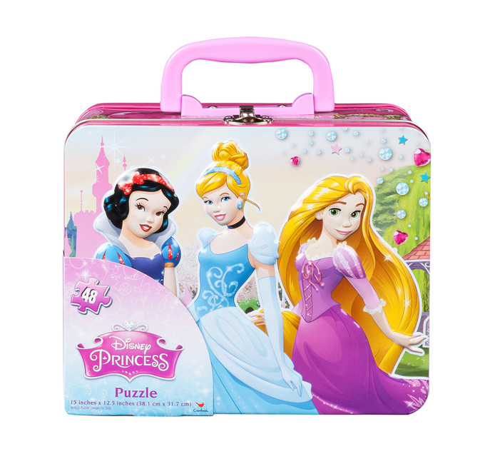DISNEY Disney Princess Puzzle In Lunch Tin