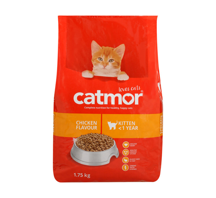 CATMOR Dry Cat Food Kitten Chicken (1 x 1.75kg)