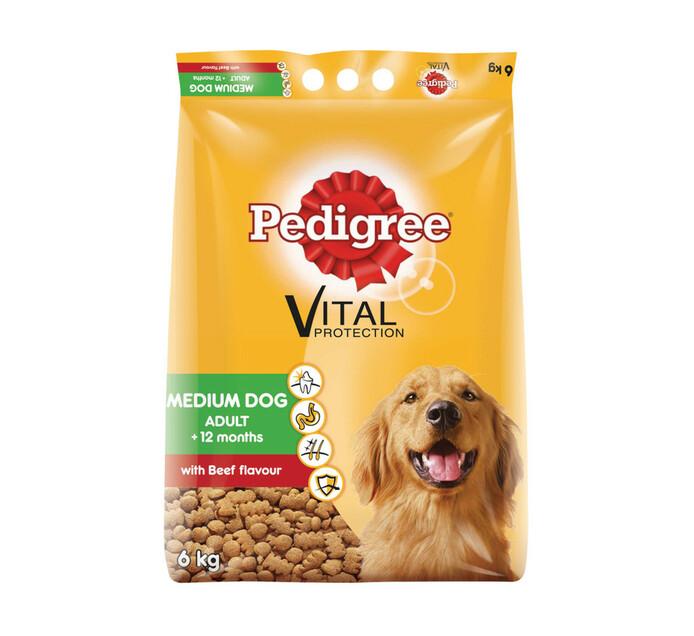 PEDIGREE MEDIUM DOG DRY FD 6KG