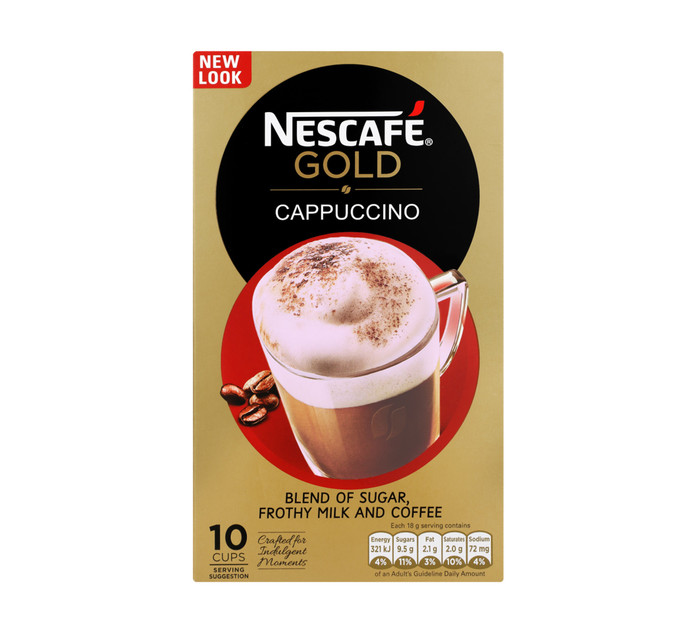 NESCAFE Cappuccino Sachets All Variants (10 x 18g)
