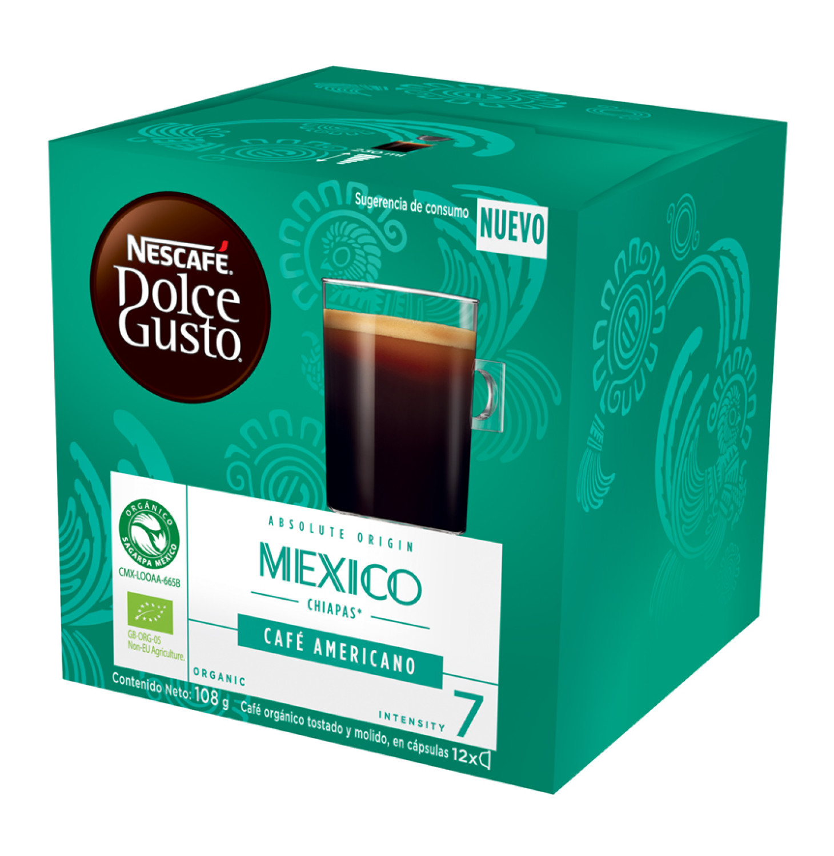 Nescafe Dolce Gusto Coffee Pods Gst Grnd Mexico (1 x 108g)