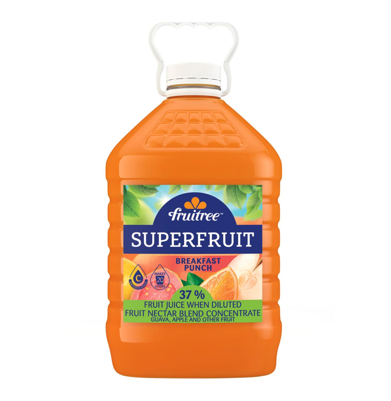 Fruitree Superfruit Breakfast Punch (1 x 4L)