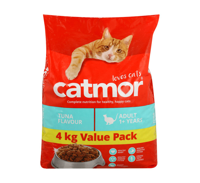 CATMOR 1 x 4kg Adult Dry Cat Food