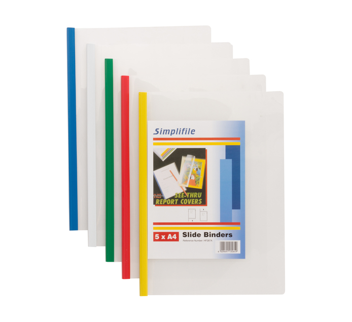 KENZEL 5 Pack Slide Binder