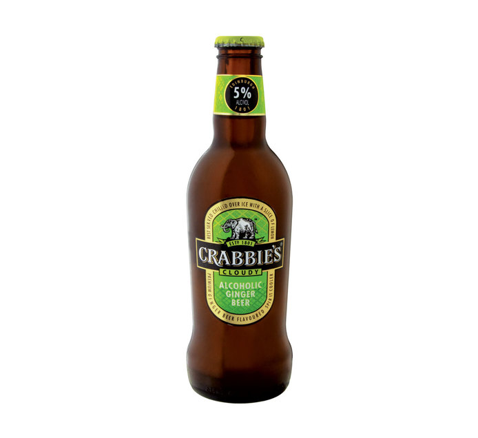 CRABBIES Ginger Spirit Cooler (1 x 275ml)
