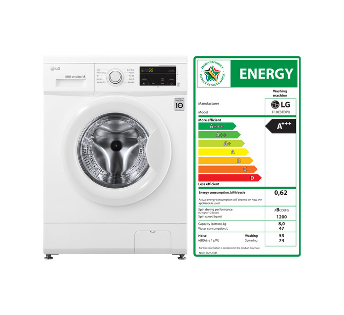Washers & Tumble Dryers | Appliances | Makro Online Site