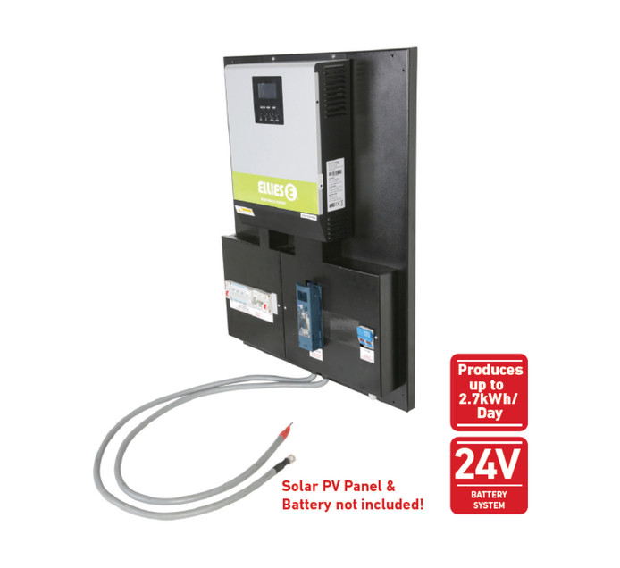 ELLIES 2400 W Solar Inverter On/Off-Grid Kit