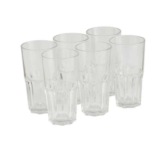ARCOROC 6 pack Granity Hiball Glasses