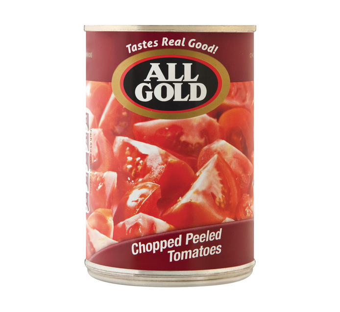 ALL GOLD CHOPPED PEELED TOM 400G